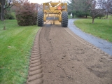 <h5>Driveway</h5><p>Driveway being pulverized</p>